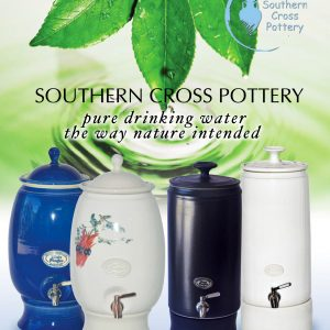 Ceramic Water Filter Urns stocked by Aqua One Australia, Morningside, Brisbane.