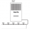 Remote Water Chillers for Schools with 120L Remote Storage for easy connecting to Drinking Water Troughs by Aqua One Australia Brisbane